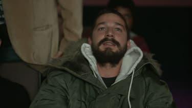 Shia Labeouf en train de regarder tous ses films in extenso.