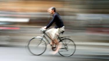 Cycliste. (Illustration)