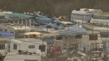 Le camp de Roms d'Ormoy, dans l'Essonne, devrait être évacué prochainement.