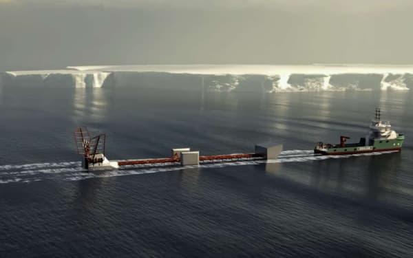 Le Polar Pod mesure 80 m de long, sur 20 de haut