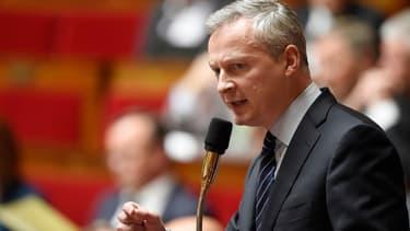 Bruno Le Maire le 12 mai 2015 à l'Assemblée.