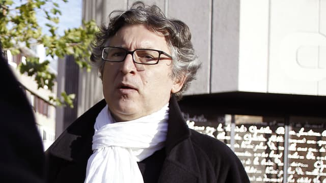 Michel Onfray à Caen en 2012