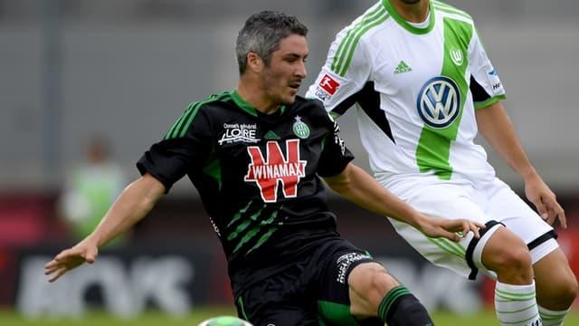 Fabien Lemoine et les Verts jouent le 3e tour préliminaire de la Ligue Europa
