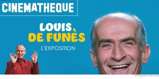 L'exposition Louis de Funès à la Cinémathèque de Paris