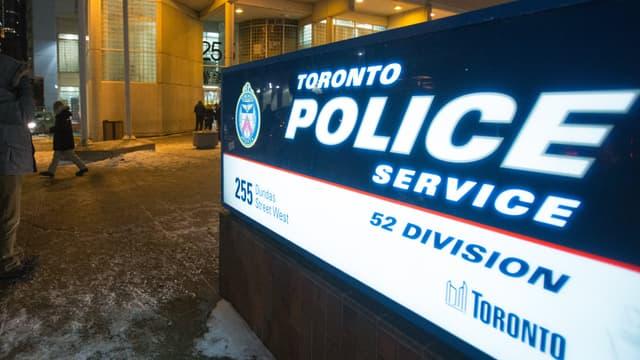Commissariat de Toronto. - GEOFF ROBINS / AFP