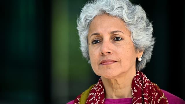 Soumya Swaminathan, la scientifique en chef de l'Organisation mondiale de la Santé, à Genève le 8 mai 2021