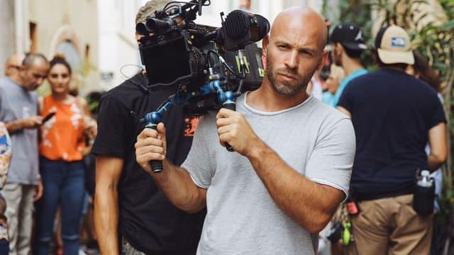 """Franck Gastambide sur le tournage de """"Taxi 5"""""""