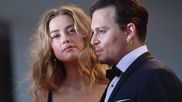 Amber Hear et Johnny Depp en Italie le 4 septembre 2015