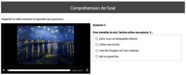 Un exercice issu de l'évaluation de français en sixième.