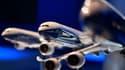 Maquette du nouveau Boeing 777x