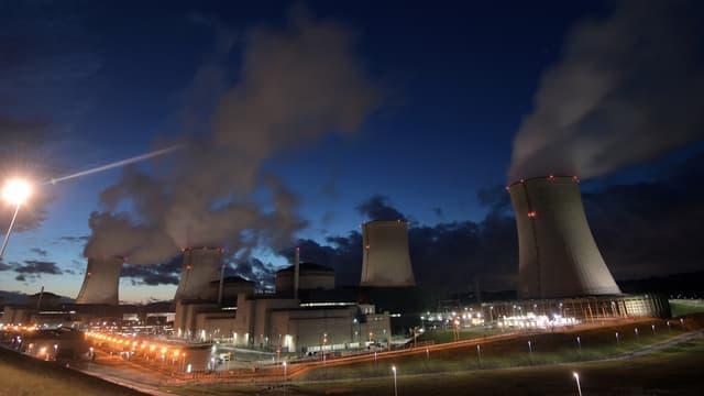 La centrale nucléaire de Cattenom, dans l'est de la France.