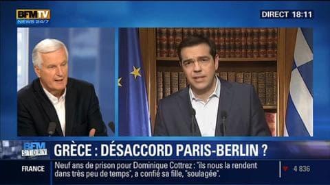 Référendum grec: Paris et Berlin affichent leur désaccord