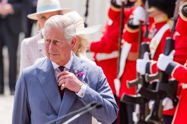 Le prince Charles, en visite en Belgique, le 17 juin 2015