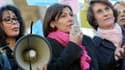 Yamina Benguigui (à gauche) est accusée d'avoir menti sur sa déclaration de patrimoine.