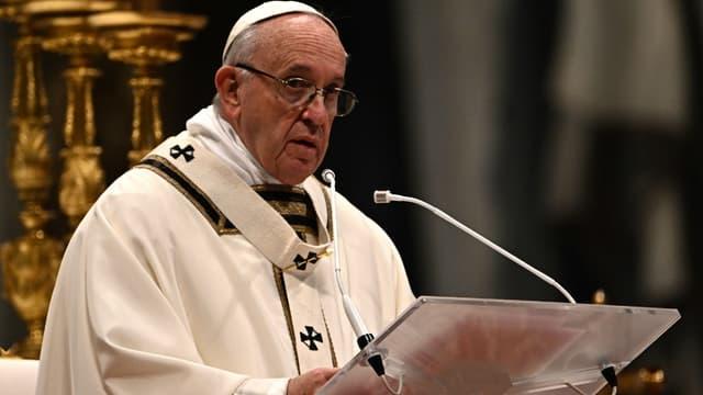 Le pape François, le 6 janvier 2019 au Vatican