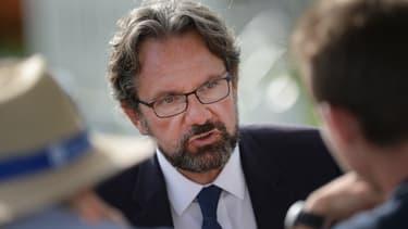 Frédéric Lefebvre est passé par l'UMP puis Les Républicains, et a annoncé sa volonté de quitter le parti en juin 2019