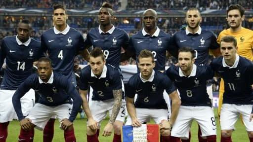 GDF Suez est partenaire des Bleus, ici lors de leur match contre les Pays-Bas, depuis 2006.