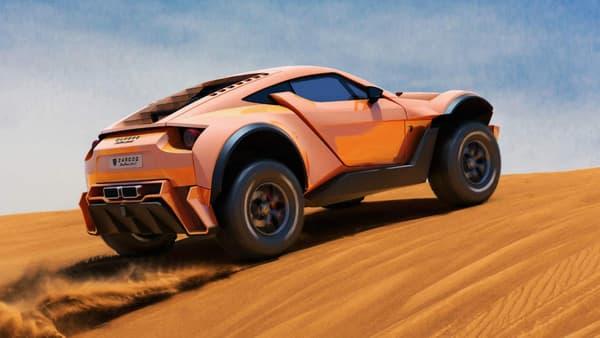 Buggy du Paris-Dakar, SUV premium ou encore supercar, le SandRacer 500 GT joue sur tous les tableaux.