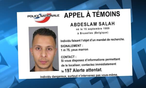 Salah Abdeslam, soupçonné d'être impliqué dans les attentats de Paris, est activement recherché.
