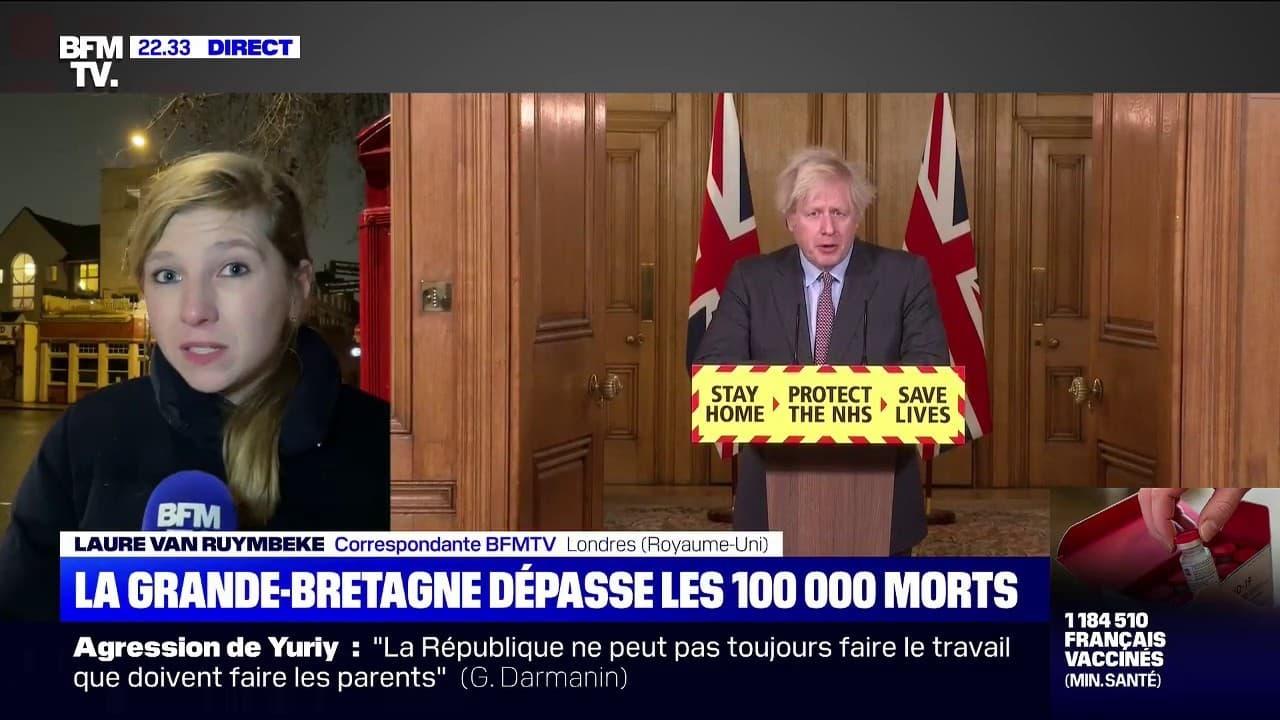 Covid-19: le Royaume-Uni dépasse la barre des 100.000 morts