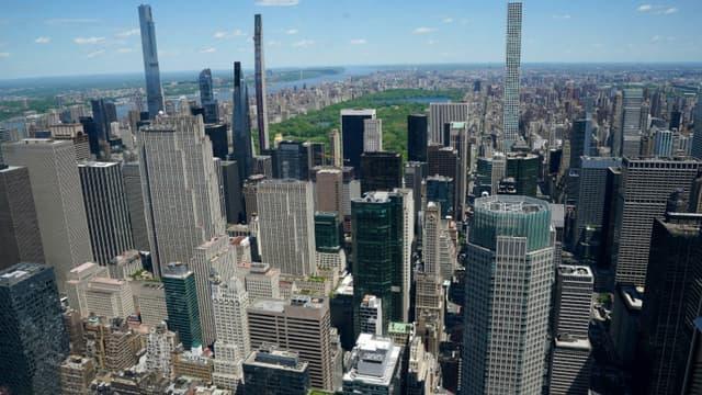 Vue de la ville de New York, le 11 mai 2021