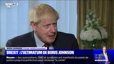 """Boris Johnson va faire une """"offre finale"""" pour le Brexit et prévient: """"ça va être une négociation très difficile"""""""