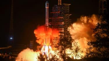 Lancement du module d'exploration chinois Chang'e-4 le 8 décembre 2018