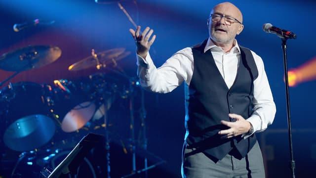 Phil Collins en mars 2016 en concert à Miami