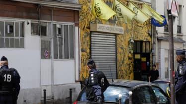 Un homme a agressé vendredi soir au couteau deux spectateurs du Lavoir Moderne, ici en mai 2013 alors que la salle hébergeait les militantes parisiennes du mouvement des Femen.