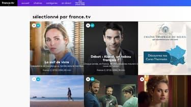 Le service s'appuiera sur le site actuel de rattrapage www.france.tv