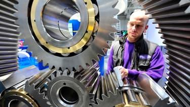 L'année dernière, le coût de la main d'oeuvre dans l'industrie était encore inférieur en Allemagne par rapport à la France