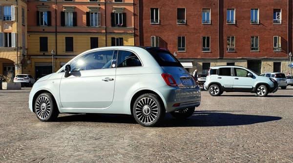 Fiat 500 et Panda Hybrid