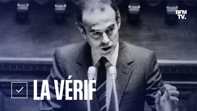 Robert Badinter, ministre de la Justice, s'adressant au Sénat pour présenter son texte sur l'abolition de la peine de mort le 28 septembre 1981