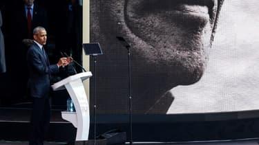 Barack Obama ce mardi à Johannesburg pour le centenaire de la naissance de Nelson Mandela