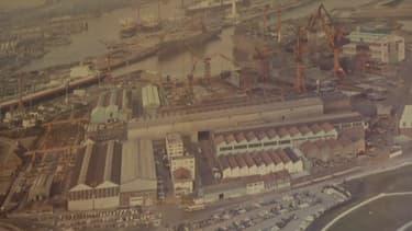 Les chantiers navals de Dunkerque