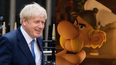 Boris Johnson est fan d'Astérix