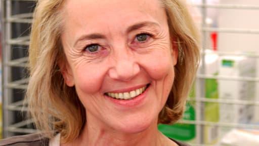L'écrivain Dominique Bona à la Comédie du Livre de Montpellier en 2010