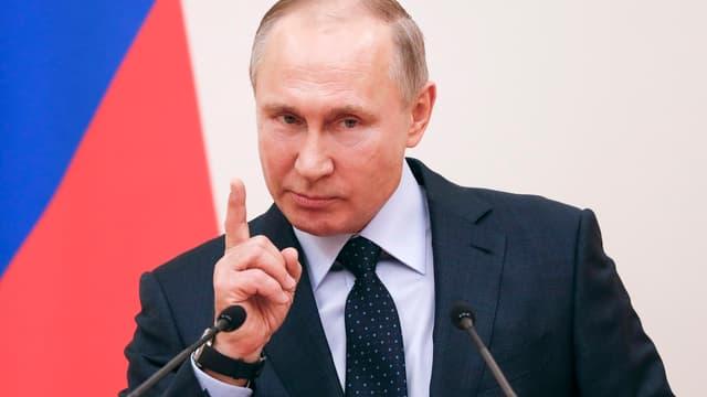 Le président de la Fédération de Russie, Vladimir Poutine.