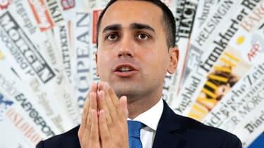 Luigi Di Maio, vice-Premier ministre italien.