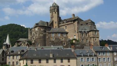 Le château d'Estaing, dans l'Aveyron est la propriété de l'ancien président depuis 2005.