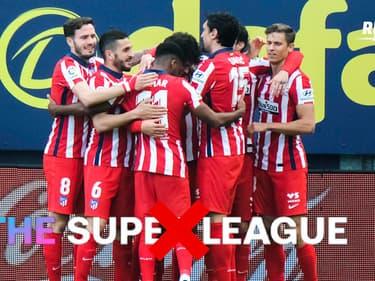 Super League : Koke et les joueurs de l'Atlético approuvent le retrait du club