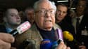 """Jean-Marie Le Pen, ici à Carpentras le 29 mars dernier, est hospitalisé pour un """"petit problème cardiaque""""."""