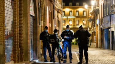 Contrôle de police à Toulouse, le 24 octobre 2020