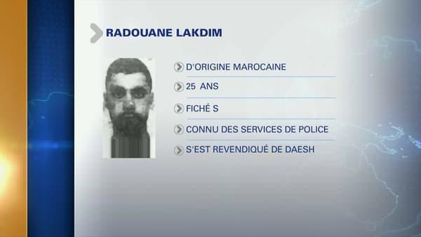 Le profil de Radouane Lakdim.