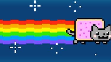 Le Nyan cat, un incontournable du GIF.