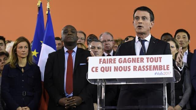 Manuel Valls à Evry, le 5 décembre 2016