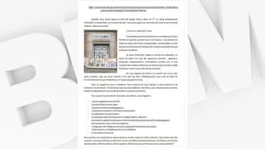 Le communiqué des personnels du lycée de Seine-Saint-Denis