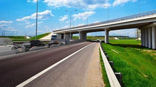 L'idée est de ne pas créer un nouveau réseau routier, mais d'utiliser l'existant.
