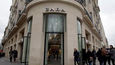 Le propriétaire de Zara jouit fortement de la sortie de crise de l'Espagne.