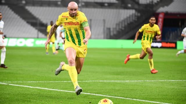 Nicolas Pallois lors du match OM-Nantes
